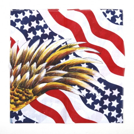 "Bandana ""Drapeau USA avec eagle""   101 Inc"