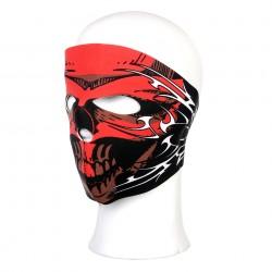 "Masque néoprène intégral ""Red skull white lines"" | 101 Inc"