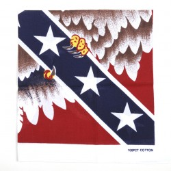 "Bandana ""Drapeau rebel avec eagle"", 101 Inc"