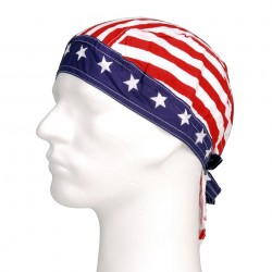 "Bandana ""Red and white stripes"" 