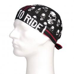 "Bandana ""Skull red stripe"" | 101 Inc"