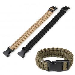 """Bracelet paracorde """"K2016B"""" 9 inch - Différents coloris   101 Inc"""