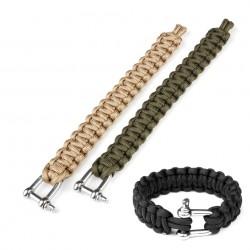 """Bracelet paracorde """"K2020"""" 9 inch - Différents coloris   101 Inc"""
