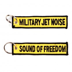 "Porte-clés ""Military jet noise"" 
