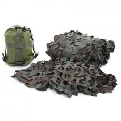 Filet de camouflage woodland 3 x 2,4 m | 101 Inc
