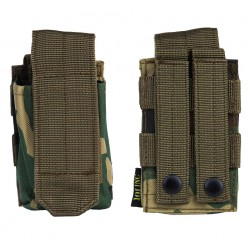 Poche tactique pour grenade avec système molle - Différents coloris et camouflages | 101 Inc