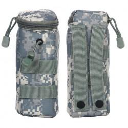 Poche tactique pour pot de billes airsoft avec système molle - Différents coloris et camouflages | 101 Inc