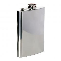 Flasque en acier 220 ml chrome | 101 Inc
