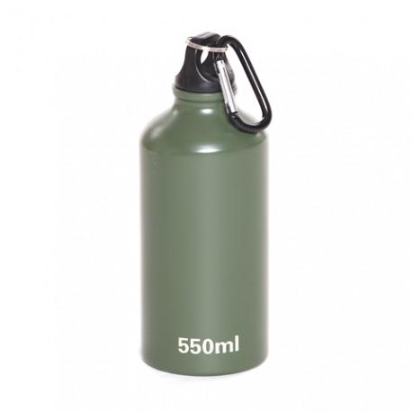 Bouteille en aluminium vert 550 ml | 101 Inc