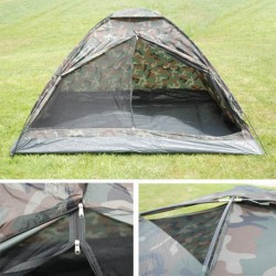 Tente 2 personnes camouflage woodland   101 Inc