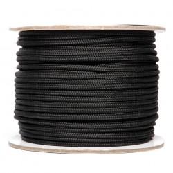 Corde utilitaire 3 mm x 60 m noir | 101 Inc