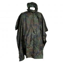 Poncho camouflage woodland | 101 Inc
