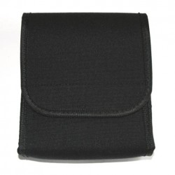 Pochette de documents noir 17 x 14 x 4 cm | 101 Inc