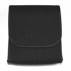 Pochette de documents noir 17 x 14 x 4 cm   101 Inc