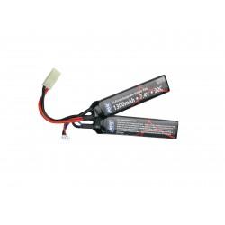 Batterie 2 sticks Li-Po 7,4 V - 1300 mAh