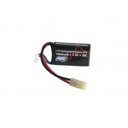 Batterie format anpeq Li-Po 7,4 V - 1000 mAh | ASG