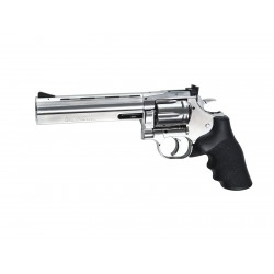 Réplique airsoft Dan Wesson 715 6 pouces chrome CO2 non blow back | ASG