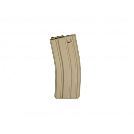 Chargeur tan 79 billes pour réplique airsoft GR16 électrique | G&G