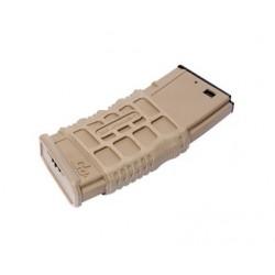 Chargeur GMAG-V1 tan 300 billes pour réplique airsoft GR16 électrique   G&G