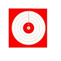 Cible 14 x 14 cm, par 1000 Europ-Arm