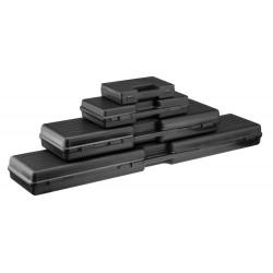 Mallette de transport ABS noire 35 x 25 x 7 cm | Europ-Arm