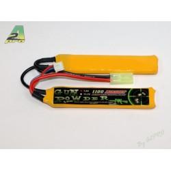 Batterie 2 sticks Li-Po 7,4 V - 1100 mAh, A2 Pro