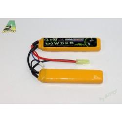 Batterie 2 sticks Li-Po 7,4 V - 2200 mAh, A2 Pro