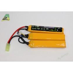 Batterie 3 sticks Li-Po 11,1 V - 2200 mAh, A2 Pro