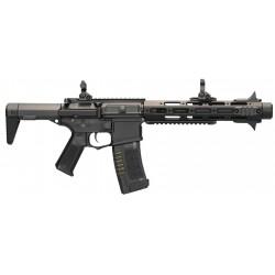 Réplique airsoft M4 assault rifle noir, électrique non blow back | Amoeba