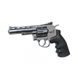 Réplique airsoft Dan Wesson 4 pouces chrome CO2 non blow back | ASG