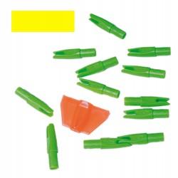 Encoche intérieure jaune, par 12 | Europ-Arm