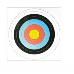 Cible papier blason 60 x 60 cm | Europ-Arm