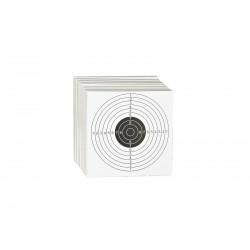 100 Cible cartonné 14 x 14 cm de la marque ASG