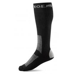Chaussettes hiver noires | T.O.E