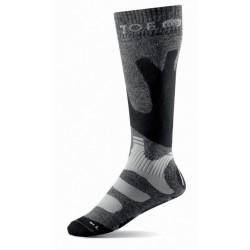 Chaussettes hiver longues marches grises | T.O.E