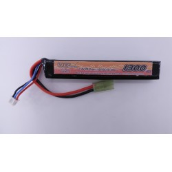 Batterie 1 stick Li-Po 7,4 V - 1300 mAh | VB