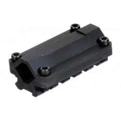 Rail tactique 5 slots pour canon | UTG