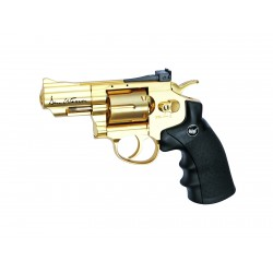 Réplique airsoft Dan Wesson 2.5 pouces gold CO2 non blow back | ASG