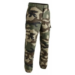 Pantalon F2 camouflage CE entrejambe 70 cm | T.O.E