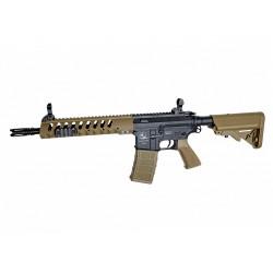 Réplique airsoft Armalite light tactical carbine tan et noir, électrique non blow back | ASG
