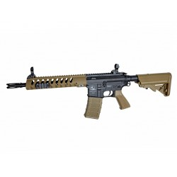 Réplique airsoft Armalite light tactical carbine tan et noir, électrique non blow back | ASG