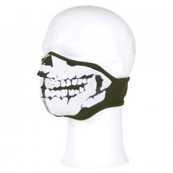 Masque néoprène demi skull 3D OD   101 Inc