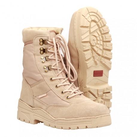 Chaussures de sniper tan   Fostex