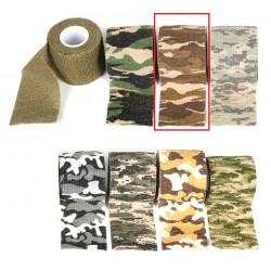 Bande de camouflage 450 x 5 cm désert   Fosco